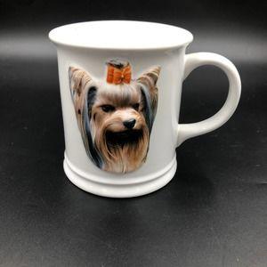 Coffee Mug Yorkie 3D Ceramic Collectible Augello